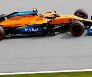 F1オーストリアGP予選:マクラーレンのノリスが予選4位ってなかなか凄くない?