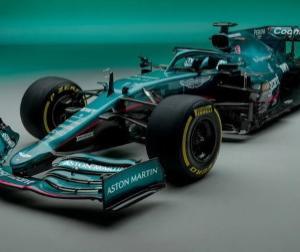 【F1新車発表】アストンマーチンが2021年型マシン「AMR21」を発表、まさにブリティッシュグリーン