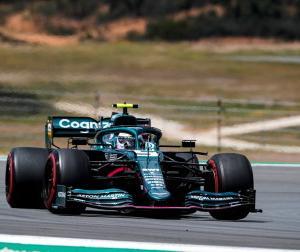 F1ポルトガルGP予選:いろいろなことの手がかりが見えてきたとアストンマーチンのベッテル