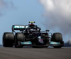 F1ポルトガルGP予選:PPを獲得したメルセデスのボッタスはタイヤをうまく使えるようになった模様