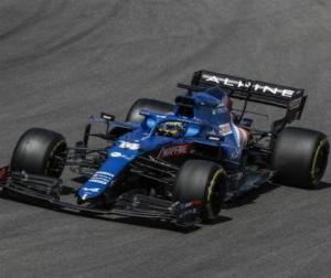 F1ポルトガルGP:アロンソ復活の予感「初めてレースでハードにプッシュすることができた」