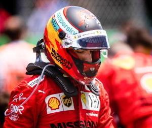 F1ポルトガルGP:フェラーリ代表ビノット「サインツは戦略のミスというより野心が強すぎた」