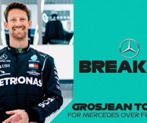 F1フランスGPの週にグロージャンがメルセデスW10で1回限りのテスト走行へ