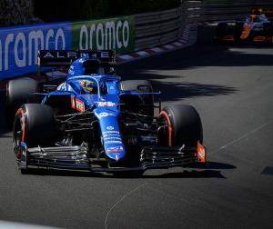 F1モナコGP:アルピーヌのアロンソ「もう少しいい成績を期待していた」「レースの内容には満足している」