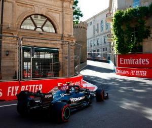 F1バクー決勝:メルセデスのボッタスが普通に走って入賞争いにすら絡めないという異常事態