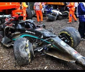 2021年F1、6戦終了時点でボッタスがマシンの損害総額首位に