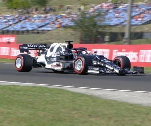 F1ハンガリーGP予選:アルファタウリの角田「どうしてガスリーとあんなに差が付いたのか分からない」