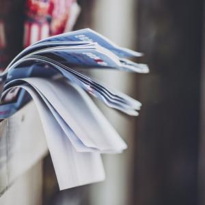 勝手にポストに投函されるチラシをゴミとして処分するのが面倒すぎる!