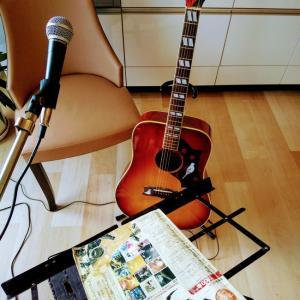 CANDA303DOVEギターピックアップ調整