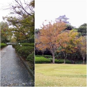 少し秋らしく成った浜松城公園
