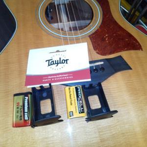 テーラーギター用新型電池ボックス