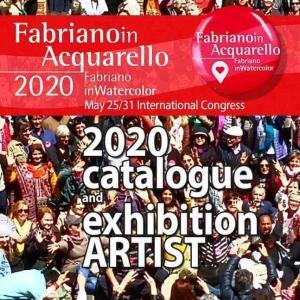 2020年ファブリアーノ展国際水彩画展
