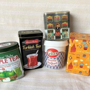トルコの空き缶コレクション