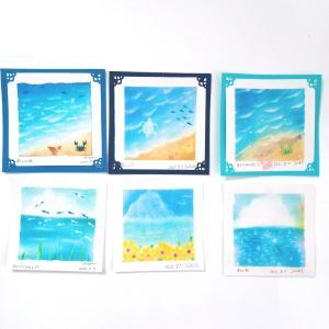 8月の土曜日パステルは、夏だ!海だ!アートだ!