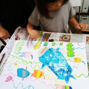 夏の工作駆け込み寺!?~子どもたちのアートな夏が始まりました。