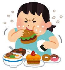 食べることでしかストレス発散できないやつwwwwww