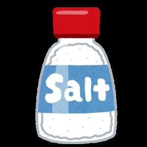 塩と砂糖を舐めずに見分ける方法ってある?