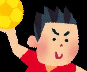 ハンドボールとか言う跳躍力、筋力、瞬発力、持久力、腕力、投擲力 すべてが必要な最強スポーツ