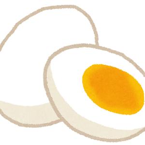 ゆで卵と水しか飲めないダイエットしてるんだけどこれキツすぎだろ