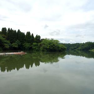 梅雨の晴れ間の雄蛇ヶ池(おじゃがいけ)