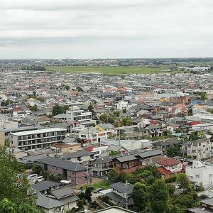 東金・山王台公園展望台からの眺望