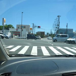 東金市内をドライブ
