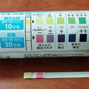 尿糖・尿たん白の自己検査
