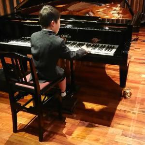 ピアノ教室発表会リハーサル