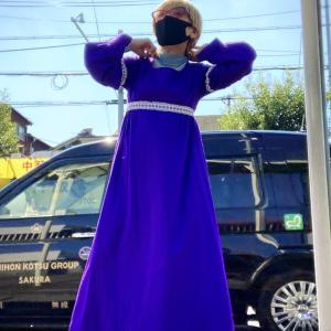 ヴィンテージドレスを日常着にしてしまう
