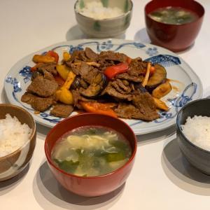 ★パプリカとエリンギと牛肉の炒め物★