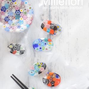 イメージに合ったお色で作るミルフィオリの箸置き♡敬老の日のプレゼント