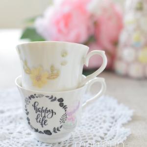 毎日使うマグカップは♡お気に入りで作りたい♪
