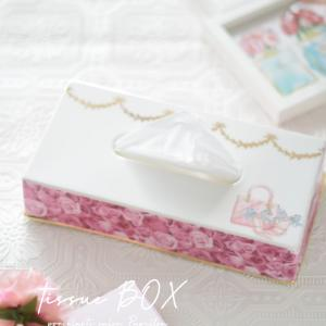 お姫仕様な♡ローズのティッシュBOX