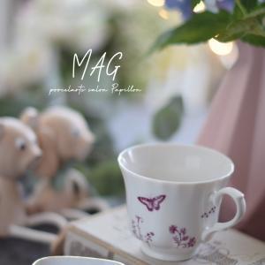 北欧風♡赤茶のデザインが素敵なマグカップ