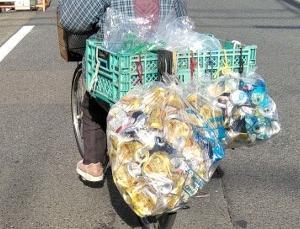 ロードバイクにアルミ缶を義務付けよ
