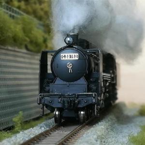 SL撮影用の「黒煙」を造ってみた…