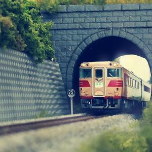 隧道ポータルの小加工…