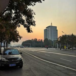 今朝のブログは河南省から