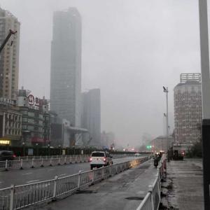 霧雨の南通