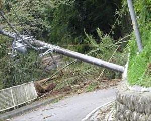 自然の脅威~台風19号   相模原市緑区青野原