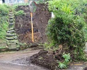 台風19号の被害~相模原市緑区青根   かって経験した事がないと・・   (1)