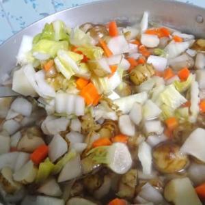 菊芋スープ ~ 身体も心も ホットに    菊芋専門店のキッチンから 高城商店