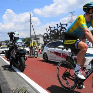 2020東京オリンピック自転車ロードレース ~ 青の原国道413号を走り抜ける