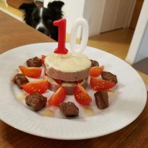 いつもどおりで誕生日ケーキ