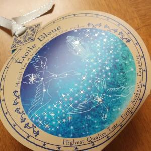ルピシアの青い紅茶♪エトワールブルー~七夕や藍屋の女肩に糸