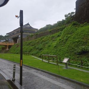 鼠多門・鼠多門橋&梅雨のメダカ池♪~ジヴェルニーの日本の橋と睡蓮の池