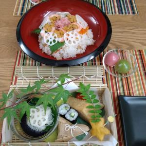 七夕ごはんと、美福の和菓子♪~歌曲集「幻影」より「夜の庭」