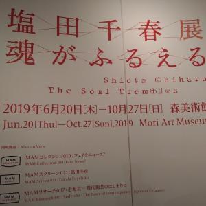塩田千春展:魂がふるえる♪~夢は叶うか叶わないかではない、追うか追わないか