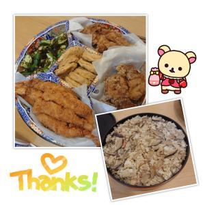 手料理に感謝✩.*