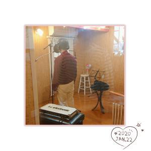 レコーディング.。.:* ♬*゜